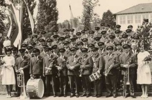 Uniform 1958 am Kantonalen Musikfest 1965