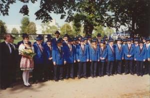 erster Auftritt der Uniform 1993