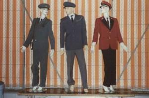 Uniformen 1939, 1958 und 1974